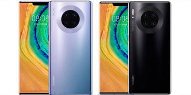 Huawei stellte Mate 30 vor, verkauft es aber nicht