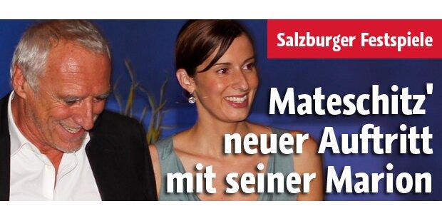 Mateschitz' neuer Auftritt mit Marion
