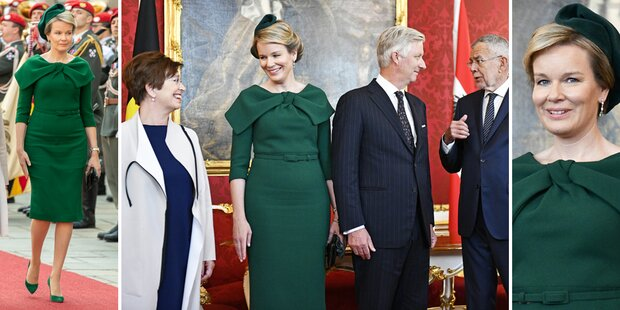 Königin Mathilde in Wien und alle reden über ...