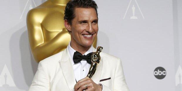 McConaughey: Liebes- Erklärung an Familie