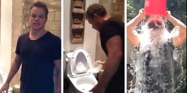 Matt Damon: Ice-Challenge mit WC-Wasser