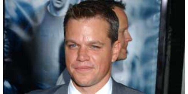 Baby setzt Matt Damon außer Gefecht