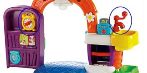 Mattel hat 394 Spielzeugküchen zurückgerufen