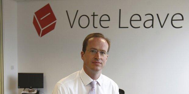 Brexit-Kampagnenchef gegen schnellen Austritt
