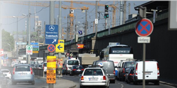 Megastau nach Ampelausfall in Wien