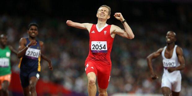 Matzinger gewinnt WM-Gold über 400 Meter