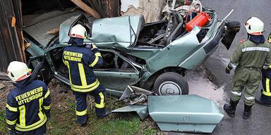 Unfall bei Mauerkirchen
