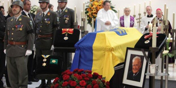 Alt- Landeshauptmann Maurer beigesetzt