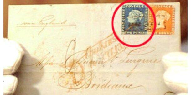 """Blaue Mauritius"" in New York versteigert"