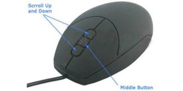Die erste wasserfeste USB-Maus