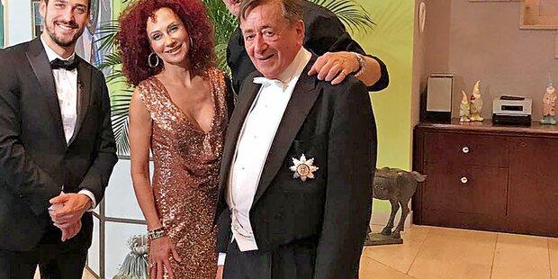 Mörtel und Mausi für Opernabll-Dreh vereint