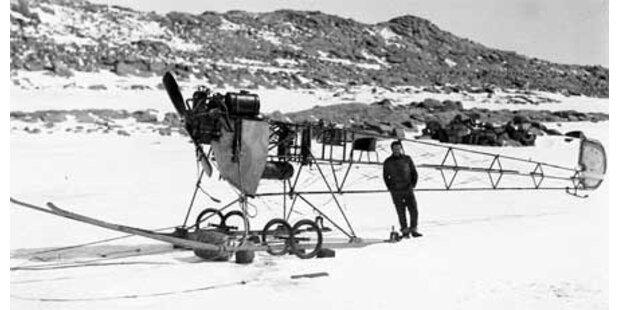 100 Jahre alter Flieger im Eis entdeckt
