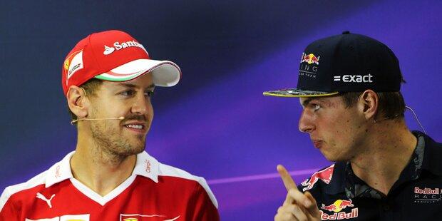 Verstappen stichelt gegen Vettel