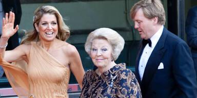 Máxima, Beatrix, Willem-Alexander