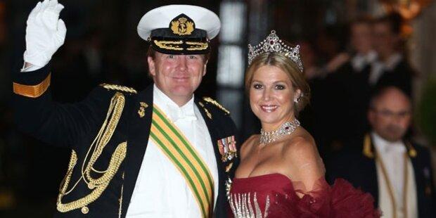 14.15 - 14.25 h Krönung des neuen Königs der Niederlande Willem-Alexander