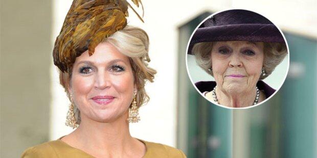 Máxima: Von Königin Beatrix ausspioniert