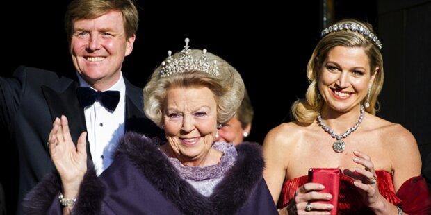 Prinzessin Beatrix schwer gestürzt