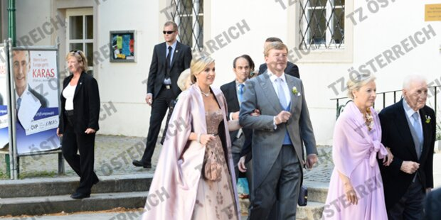 Königin Máxima auf Wien Besuch