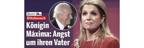 Königin Máxima: Angst um ihren Vater