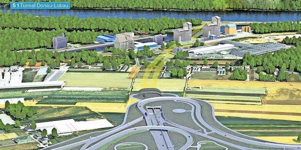 Knalleffekt: Grünes Licht für Lobau-Tunnel