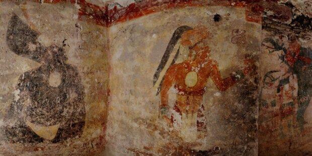 Neuer Maya-Kalender sagt Weltuntergang ab