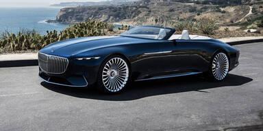 Maybach zeigt elektrisches Luxus-Cabrio