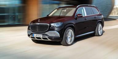 Mercedes bringt das erste Maybach-SUV