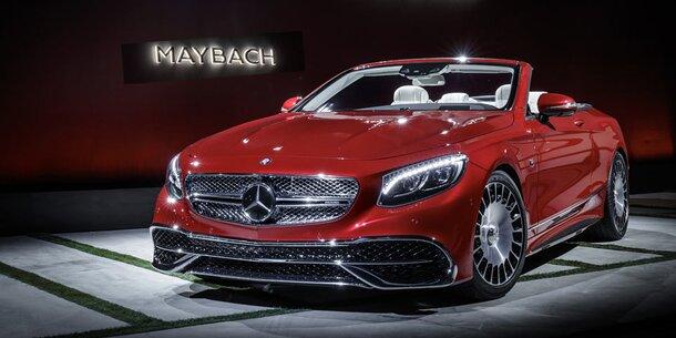 maybach s 650 cabrio alle infos fotos preis und video. Black Bedroom Furniture Sets. Home Design Ideas