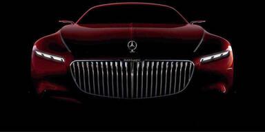 Mercedes zeigt neues Maybach-Coupé