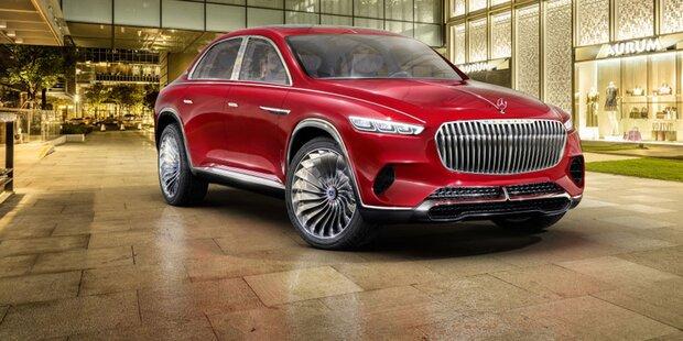 Maybach zeigt ein ultimatives Luxus-SUV