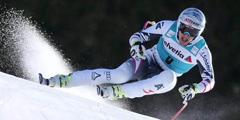 Olympiasieger Mayer wieder auf Ski