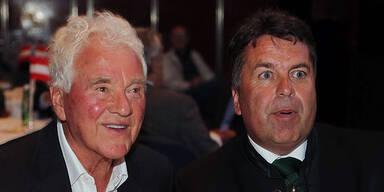 Frank Stronach und Hans Mayr
