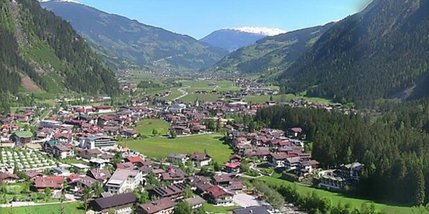 Sonnenschein in ganz Österreich