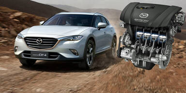 Mazda hat den Wunder-Benzinmotor fertig