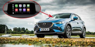 Mazda: Smartphone-Integration zum Nachrüsten