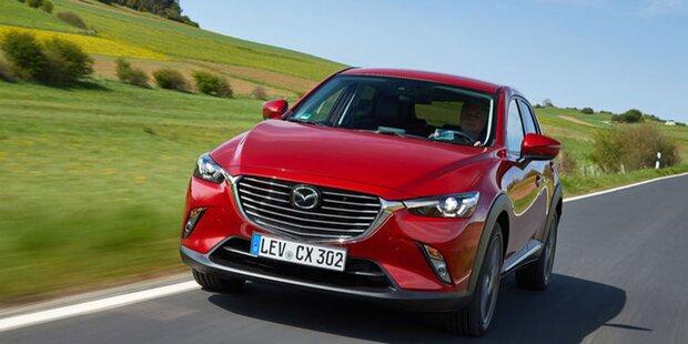 Aufgefrischter Mazda CX-3 startet