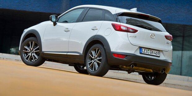 Mazda verpasst dem CX-3 ein Facelift