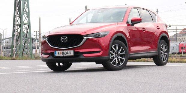 Mazda CX-5 mit Top-Benziner im Test