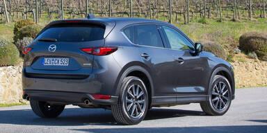 Mazda CX-5 ist bei uns ein Bestseller