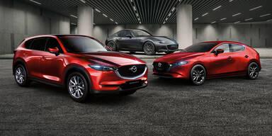 Mazda3, CX-5 und MX-5 als Sondermodelle