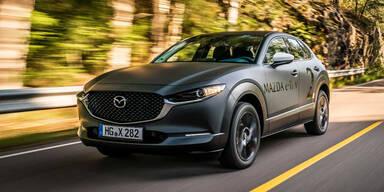 Mazda zeigt sein erstes Elektroauto
