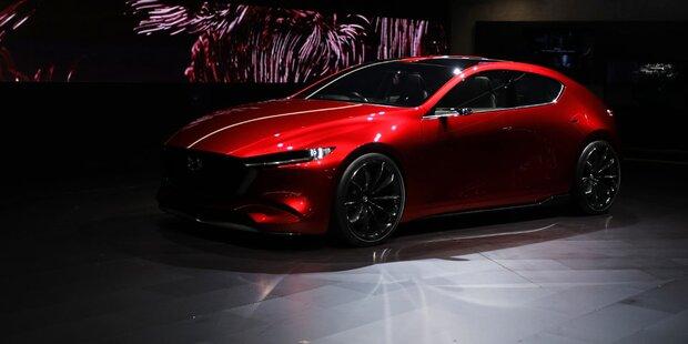 Neuer Mazda3 startet mit Wunder-Benziner