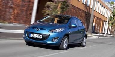 Neuer Mazda2 startet in Österreich