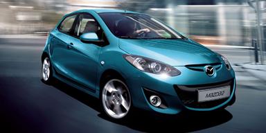 Neue Front für den Mazda2; Bild: Mazda