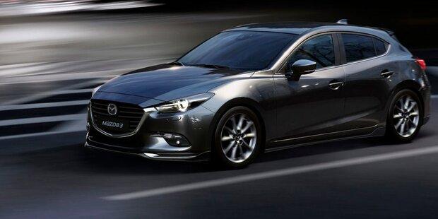 """Das kostet der """"neue"""" Mazda3"""