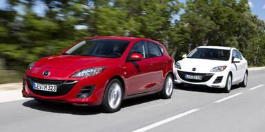 Neuer Mazda3 CD116 Diesel startet