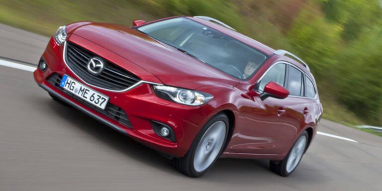 Mazda6 geht weg wie warme Semmeln