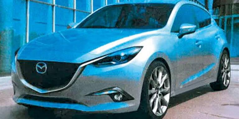 Fotos vom nächsten Mazda3 aufgetaucht
