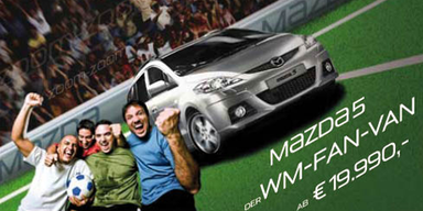 Mazda5 - der WM-FAN-VAN