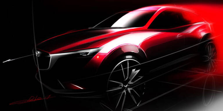 Mazda CX-3 greift bei Kompakt-SUVs an